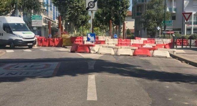 Chantier avenue de Genève par CECCON BTP