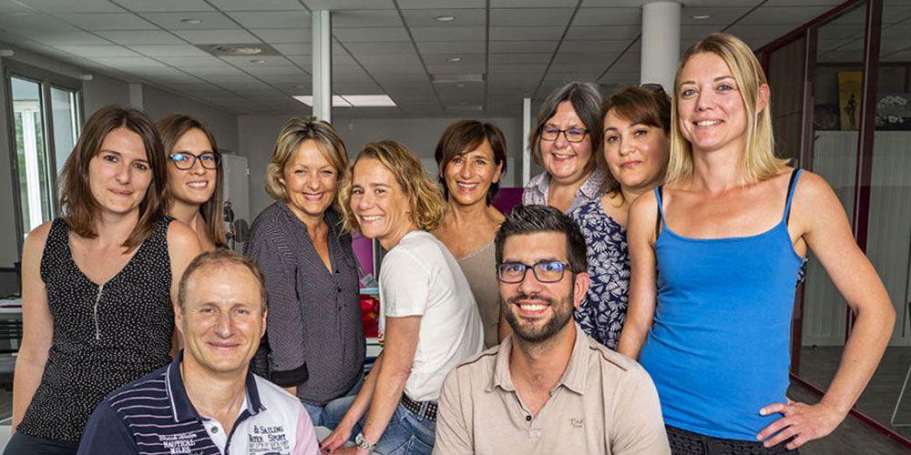 L'équipe administrative - Ceccon BTP
