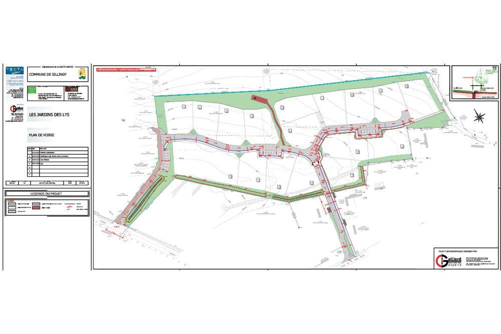 Aménagements extérieurs par CECCON BTP pour Le Jardin des Lys à Sillingy