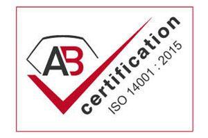 Ceccon BTP Certification ISO 14001